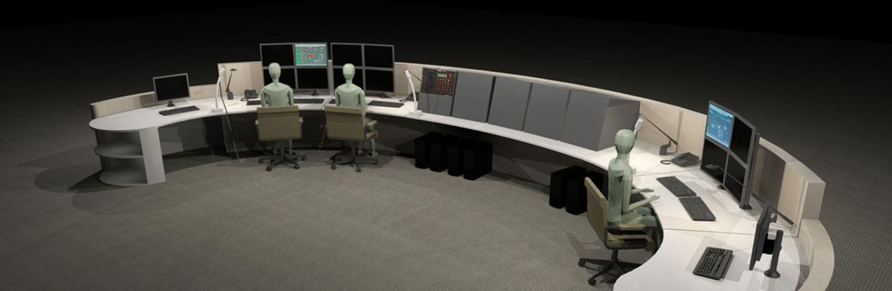 control room console design