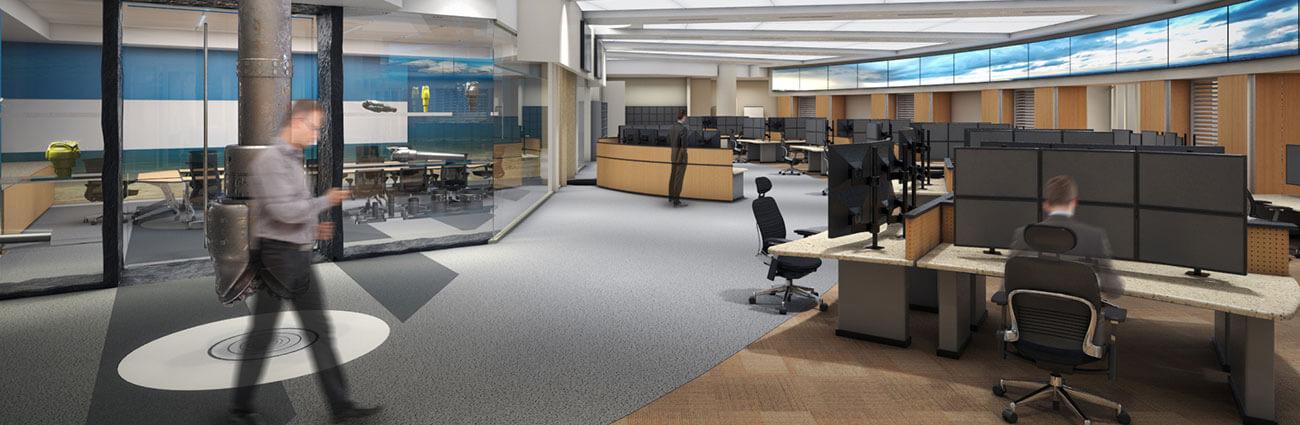 control room interior design