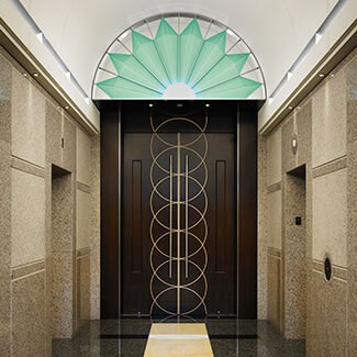Plaza Tower One Lobby Renovation Denver Baw Architecture