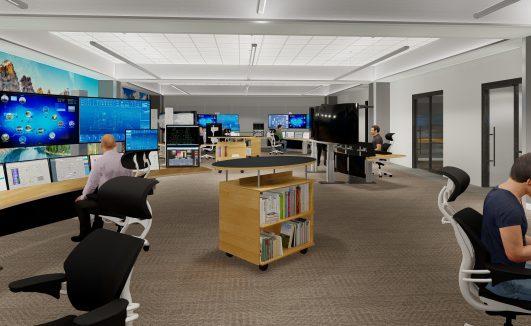 Primary Control Center BAW Architecture